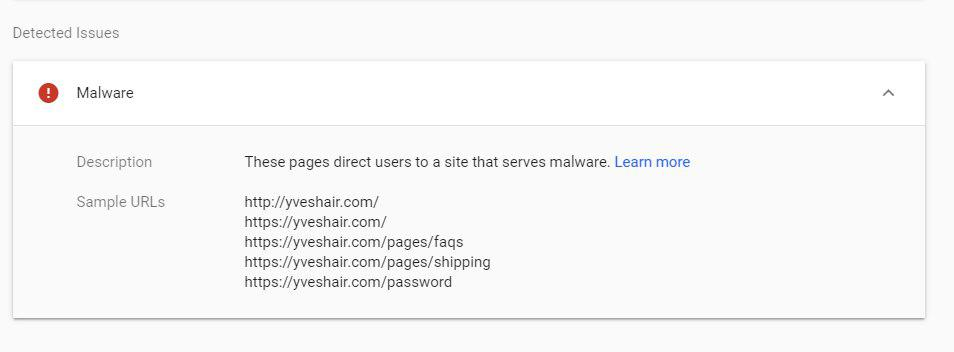 the-site-ahead-contains-malware