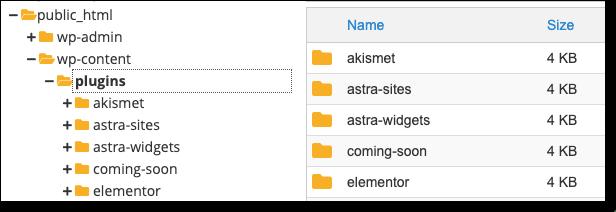 wp-plugins-folder